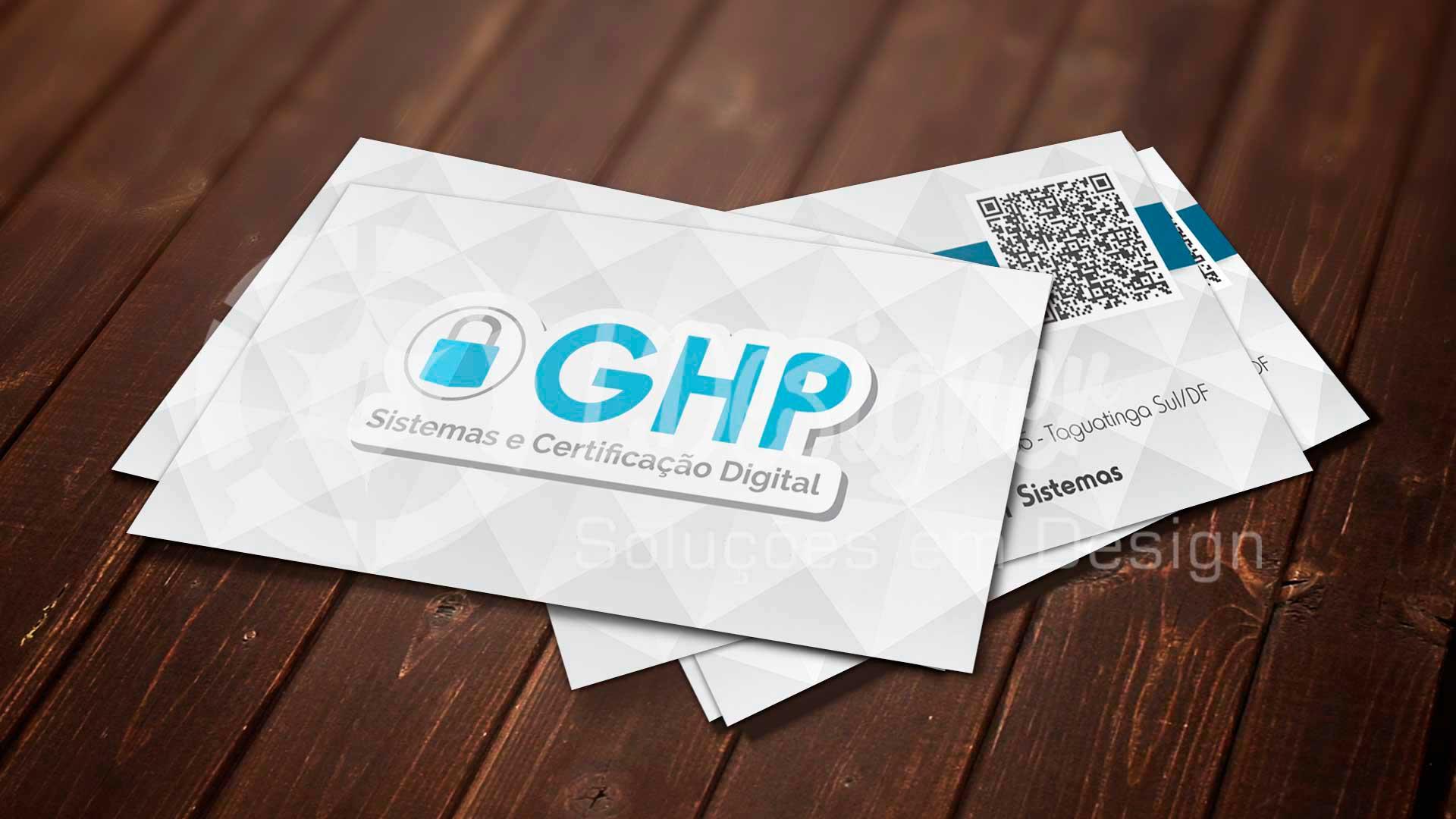 LDesigner - Cartão de Visita GHP Digital