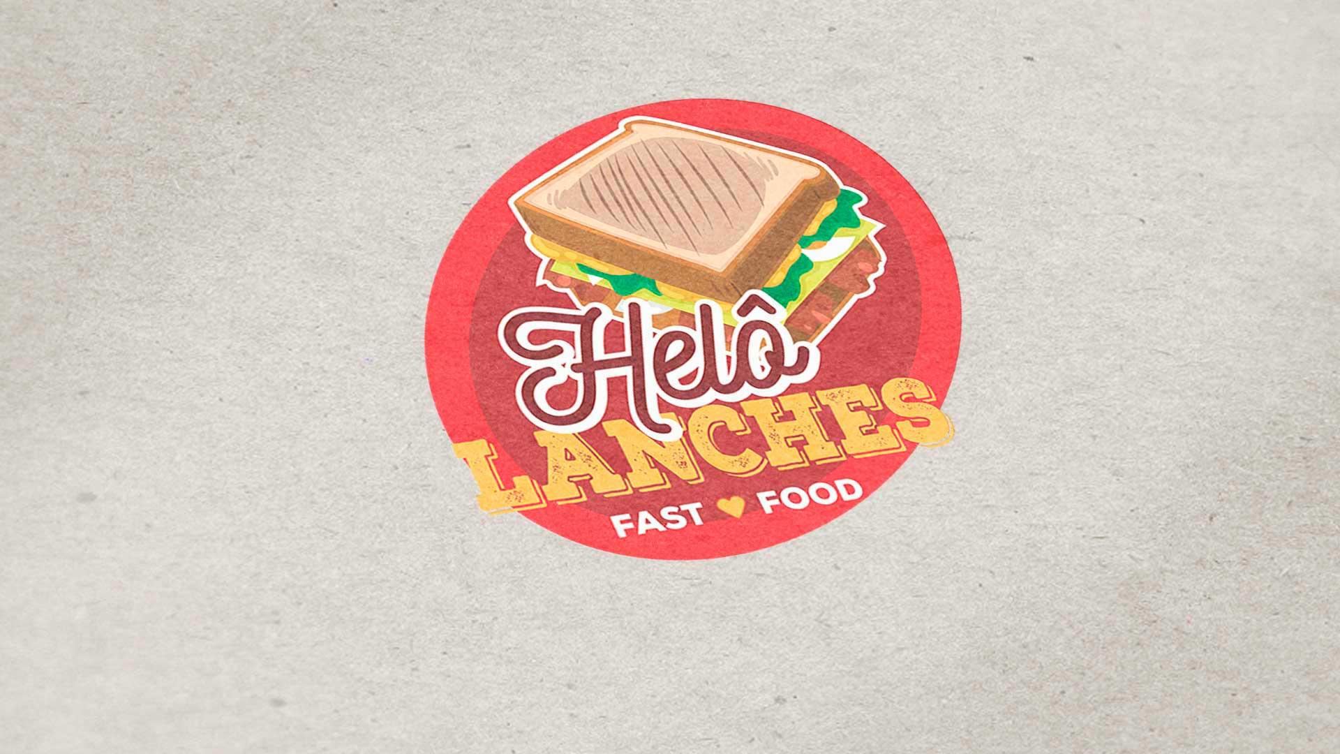 LDesigner - Logomarca Helo Lanches