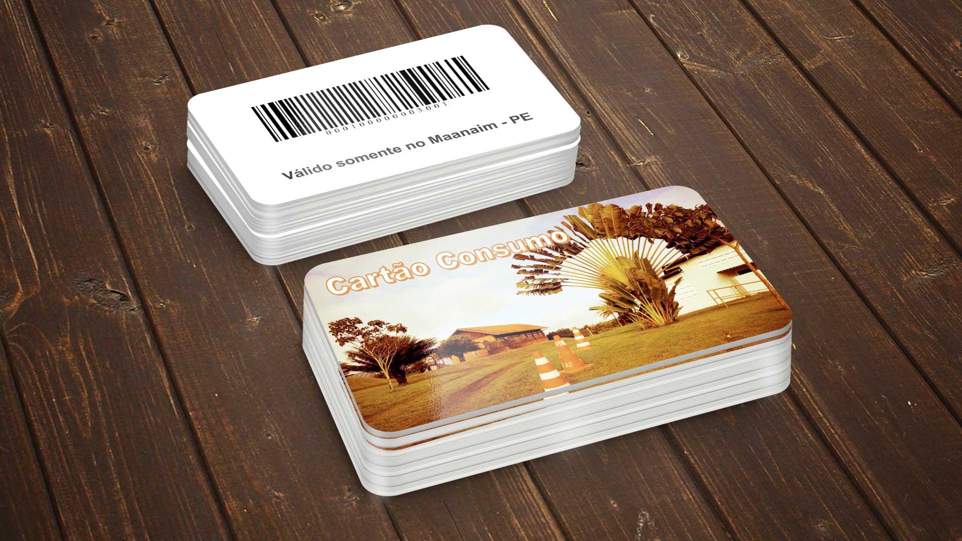 LDesigner - Cartão Consumo Cantina Maanaim PE