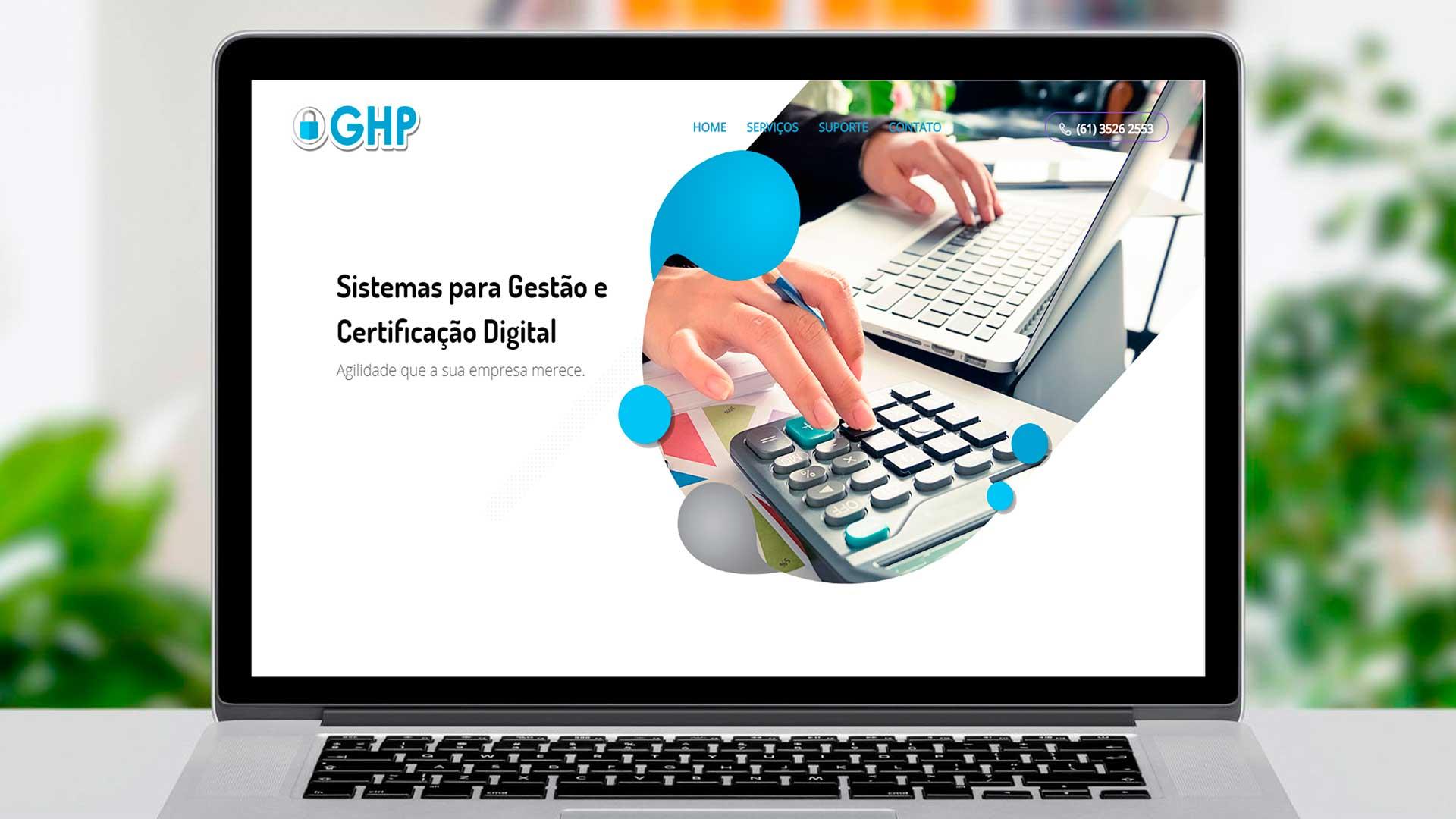LDesigner - Website GHP Digital
