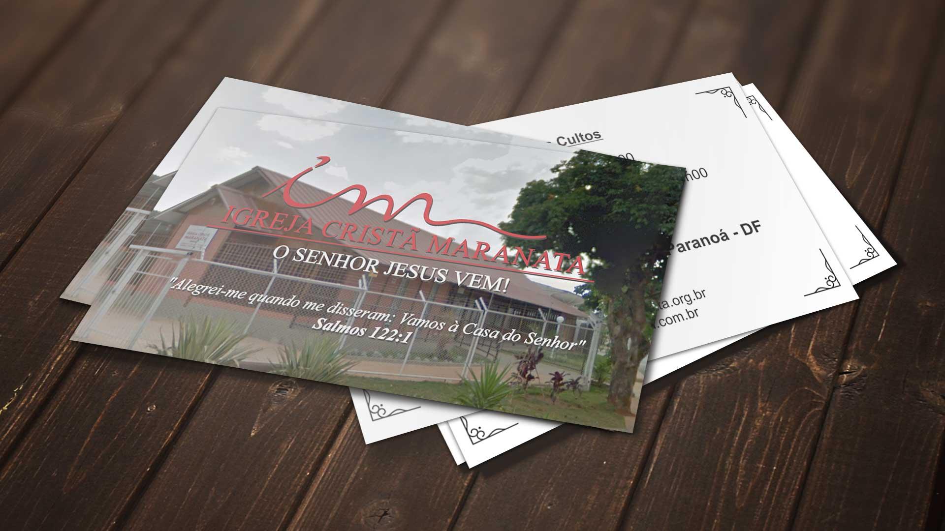 LDesigner - Cartão de Visita ICM Paranoá